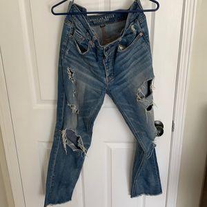 American eagle vintage Tom girl jeans
